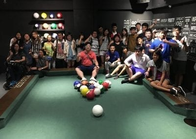 Group Photo @Pool Soccer Party