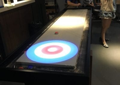 Here it goes!_Table Curling
