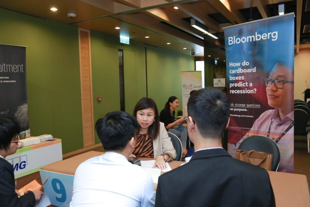Bloomberg has joint the inclusive recruitment fair organised by CareER