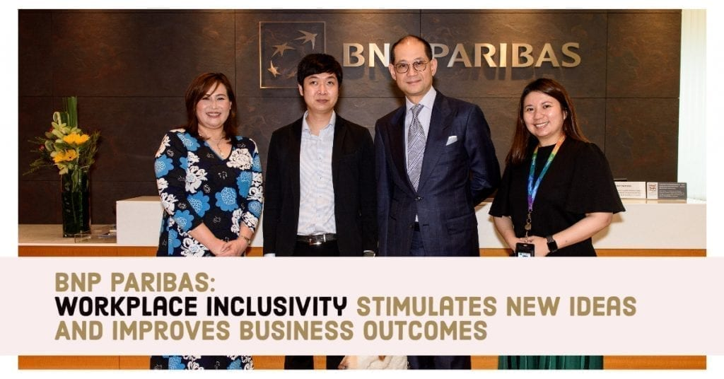 WORKPLACE INCLUSIVITY STIMULATES NEW IDEAS AND IMPROVES BUSINESS OUTCOMES